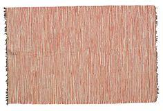 Lucia Flat-Weave Rug, Salmon on OneKingsLane.com
