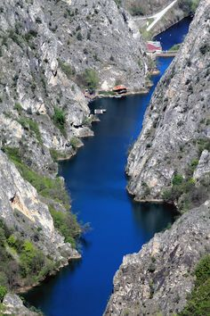 Canyon Matka,  Macedonia ... Book & Visit MACEDONIA now via www.nemoholiday.com or as alternative you can use macedonia.superpobyt.com .... For more option visit holiday.superpobyt.com