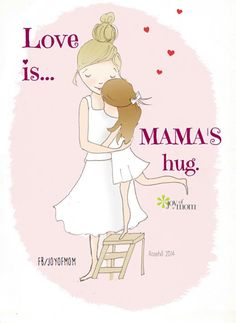 There's nothing better than a hug from your daughter(s). I always always always love these hugs