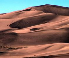 """Did you know that #Colorado has sand dunes? """"Great Sand Dunes National Park, Colorado""""  #boomer #travel"""
