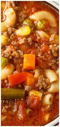 Soup Busy Day Soup ~ It's quick to make and takes little effort. Perfect for those busy weeknights.Busy Day Soup ~ It's quick to make and takes little effort. Perfect for those busy weeknights. Easy Soup Recipes, Healthy Recipes, Dinner Recipes, Potato Recipes, Macaroni Soup Recipes, Slow Cooker Recipes, Crockpot Recipes, Cooking Recipes, Soup And Sandwich