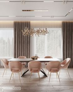 Enhance Your Senses With Luxury Home Decor Luxury Dining Room, Elegant Dining Room, Dining Room Design, Table Design, Dining Room Lighting, Dining Room Sets, Chandelier Lighting, Dining Area, Dining Chairs