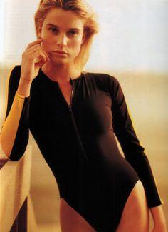 Phillip Dixon for Mirabella magazine, June 1989. Clothing by Ralph Lauren.