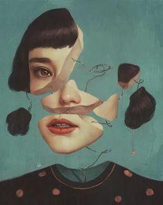 #arte em ilustração; feminina e surreal – RG PRÓPRIO by Lu K!