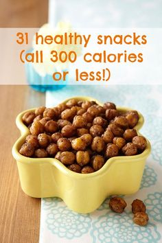 31 healthy snack recipes that are all 300 calories or less