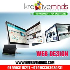Good web design is about the character of the designer. Visit Us at: www.kre8iveminds.com Or Call Us at: +91 9903118211