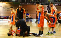 Not a good sight - Southland Sharks' Morgan Natanahira injured during the game on Saturday against the Hawks. Basketball Teams, Basketball Court, Shark S, Park Hotel, Recovery, Game, Sports, Hs Sports, Venison