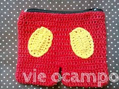 Mickey Mouse Pants Coin Purse