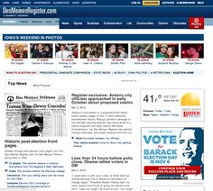 DesMoines Register Obama Election Day Ad