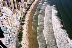 Praia Central de Camboriú, Balneário Camboriú, Santa Catarina, Brasil