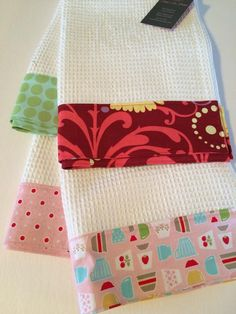 Handmade towels are a perfect stocking stuffer!