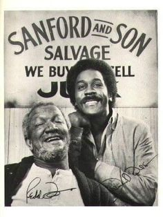 70s Sitcoms, Black Sitcoms, Mejores Series Tv, Redd Foxx, Sanford And Son, Nostalgia, Old Shows, 70s Tv Shows, Vintage Tv