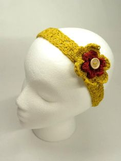 Spring Headband In Nugget Gold  with Detachable by toppytoppy, $10.00