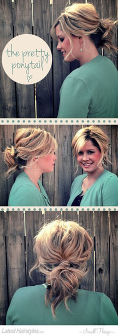The Prettiest Ponytail Tutorial You Must Try Today