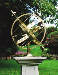 Gentil Armillary Sphere...garden Folly | Garden | Pinterest | Gardens, Herbs Garden  And Garden Art