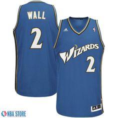 47b5341ad4d John Wall Washington Wizards #2 Revolution 30 Swingman Slate Blue Jersey  Discount Nike Shoes,