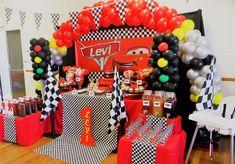 Cars Disney Movie Birthday Party Ideas