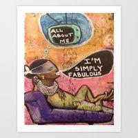 Art Prints by Tiffany Alcide (owner Of WISE Art) | Page 3 of 4 | Society6