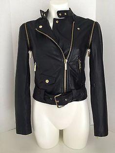Michael-Kors-New-Navy-Convertible-Leather-Moto-Zip-Jacket-XS