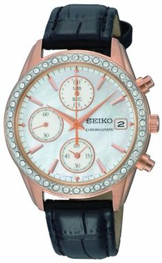 f6c2c03f817 Seiko Womens SNDY14 Chronograph Watch     Check this awesome product by  going to the