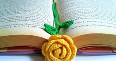 Hey everyone! I have been doing crochet rose brooches for awhile and I really enjoy making roses. I made one blue crochet rose and added a...