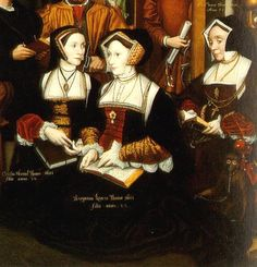 Detail Thomas More and his family 1592