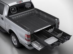 You've never get the most useful out of your truck bed until you installed this Decked Truck Bed Organizer. Designed to fit on most full-sized trucks like it