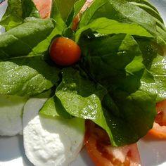 Ensalada Tricolore - Mozzarella