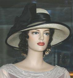 Kentucky Derby Hat Edwardian Hat Lady Judy by darnasderbyhats ($199)