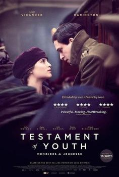 'Testament of Youth', directed by James Kent Kit Harington, Alicia Vikander, Film Music Composers, Road Trip Playlist, Chill Songs, Jean Reno, Game Of Thrones Funny, Great Films, Memoirs