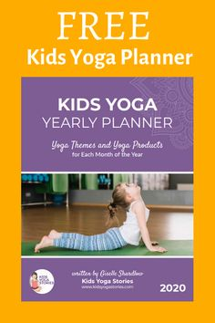 Kids Yoga Stories Yearly Planner for 2020! Kindness Activities, Mindfulness Activities, Kids Planner, Free Planner, Kids Yoga Poses, Yoga For Kids, Indoor Activities For Kids, Physical Activities, Motor Activities