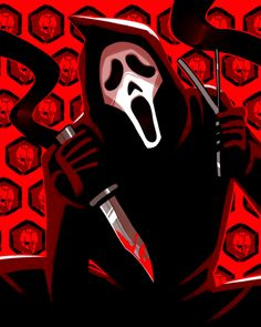 Slasher Movies, Horror Movie Characters, Best Horror Movies, Classic Horror Movies, Scary Movies, Fictional Characters, Michael Myers, Ghostface Scream, Scream Movie