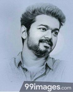 Vijay Drawing Our Thalapathy Vijay Anna Pencil Drawing Images