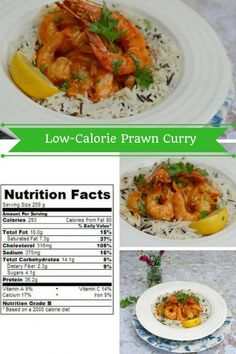 Low-Calorie Prawn Curry for the 5:2 diet - a 5:2 diet low calorie prawn curry recipe that will work for any low calorie diet #Diet #prawn #shrimp #curry #lowcalorie