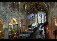 Adaptive reuse - an abandoned monastery in Maastricht, Netherlands repurposed into a unique luxury hotel.