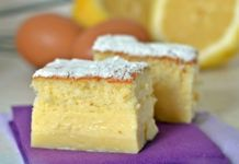 Magic Lemon Cake with Thermomix Gateau Cake, Torte Cake, Dessert Thermomix, Brookies Recipe, Cake Recipes, Dessert Recipes, One Pan Meals, Food Truck, Chocolate Chip Cookies
