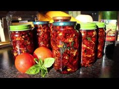 Sun dried tomatoes: In the sun or in your dehydrator, this is how you do it - YouTube