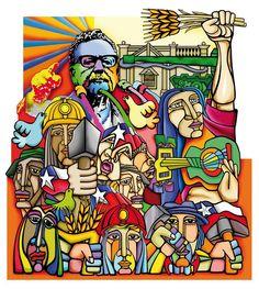 1000 images about brigada ramona parra on pinterest for Diario mural fiestas patrias chile