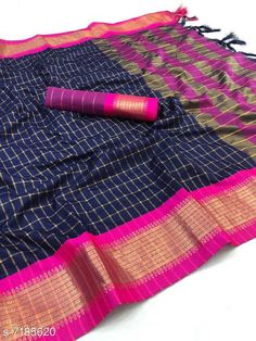 Sarees  NEW SOFT COTTON SILK SAREE FOR WOMEN SHREE CHEX ANUPAMA Saree Fabric: Cotton Silk Blouse: Running Blouse Blouse Fabric: Cotton Silk Pattern: Woven Design Blouse Pattern: Woven Design Multipack: Single Sizes:  Free Size (Saree Length Size: 5.5 m Blouse Length Size: 0.8 m) Country of Origin: India Sizes Available: Free Size   Catalog Rating: ★4.1 (451)  Catalog Name: Chitrarekha Sensational Sarees CatalogID_1146747 C74-SC1004 Code: 784-7185620-999