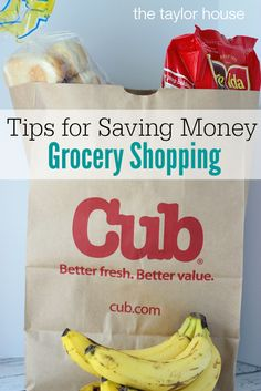 Saving Money Grocery Shopping, #mycubrewards, Cub Foods, Meal Planning, Free Meal Planning