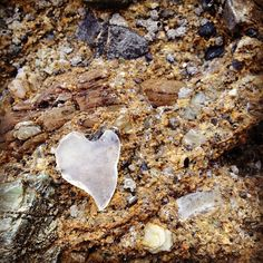#seaglass jackpot - hearts in nature