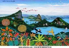 VISTA CHINESA - Rio, século 16 Militão dos Santos Militão- Artelista.com - en