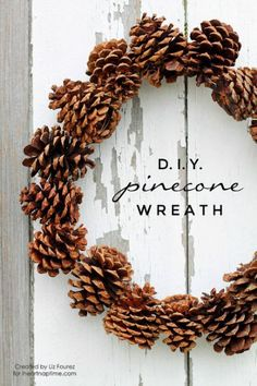 12 Fun Pinecone Crafts