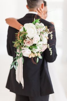 Bridal bouquet with ivory and dusty rose blooms. Photo: @laurenkearnsphotography Wedding Bouquets, Wedding Flowers, Wedding Dresses, Blooming Rose, Blue Ridge Mountains, Forest Wedding, Dusty Rose, Flower Arrangements, Bridesmaid Dresses