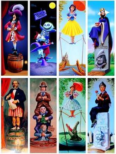 The Haunted Mansion Portraits portrayed by Disney characters Disney Parks, Disney Pixar, Disney Rides, Disney Nerd, Disney Villains, Disney And Dreamworks, Disney Love, Disney Characters, Disney Stuff