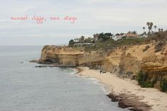 Sunset Cliffs (Point Loma): I wouldn't call this a hike so much as a stroll by the water, but it's a must for sure. It's not only the best place to watch a San Diego sunset, but also much less populated than the Torrey Pines trail. You can walk the mild undulation of Sunset Cliffs Park or head north on Sunset Cliffs Boulevard towards Ocean Beach