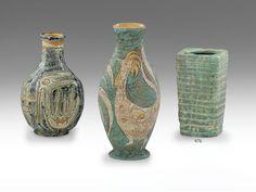 Gorka Géza - Art deco díszváza Pottery Art, Hungary, Art Deco, Vase, Decor, Decoration, Vases, Decorating, Art Decor