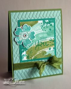 Work of Art Thank You Cards - LW Designs Stampin' Up!