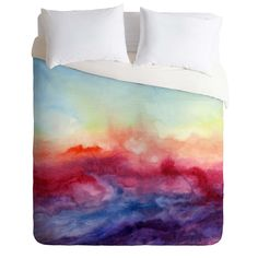 Jacqueline Maldonado Arpeggi Duvet Cover | DENY Designs Home Accessories