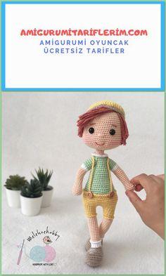 Share a great amigurumi baby boy recipe for you … – Gift Ideas Amigurumi Giraffe, Amigurumi Doll, Crochet Bunny, Crochet Dolls, Amigurumi For Beginners, Mickey Mouse, Crochet Amigurumi Free Patterns, Baby Boys, Baby Knitting